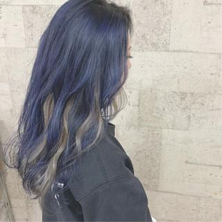 ハイトーンカラー インナーカラー ダブルカラー ストリート ヘアスタイルや髪型の写真・画像