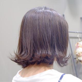 フェミニン ナチュラル ボブ 外国人風 ヘアスタイルや髪型の写真・画像