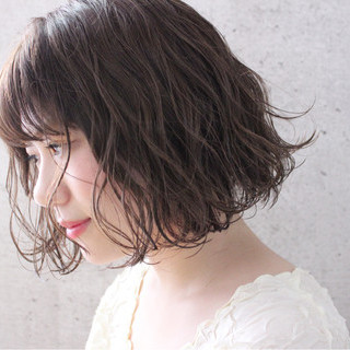 大人かわいい 透明感 ゆるふわ 大人女子 ヘアスタイルや髪型の写真・画像
