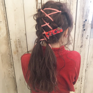 大人女子 小顔 セミロング こなれ感 ヘアスタイルや髪型の写真・画像