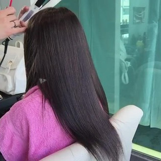 上品 エレガント アッシュ ロング ヘアスタイルや髪型の写真・画像 ヘアスタイルや髪型の写真・画像