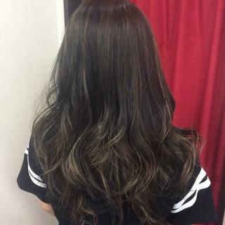 外国人風カラー セミロング ダブルカラー グラデーションカラー ヘアスタイルや髪型の写真・画像 ヘアスタイルや髪型の写真・画像