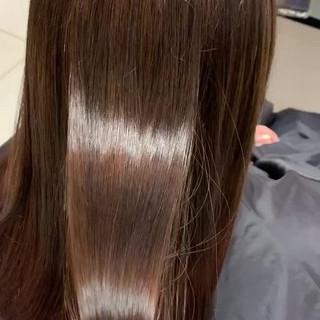 外国人風カラー ナチュラル 艶髪 グラデーションカラー ヘアスタイルや髪型の写真・画像