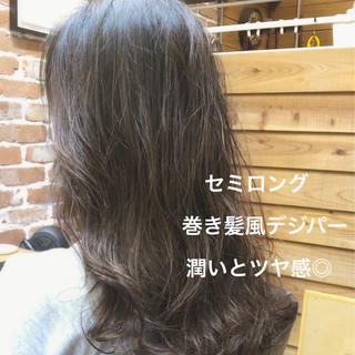 ゆるふわ デジタルパーマ パーマ ゆるふわパーマ ヘアスタイルや髪型の写真・画像