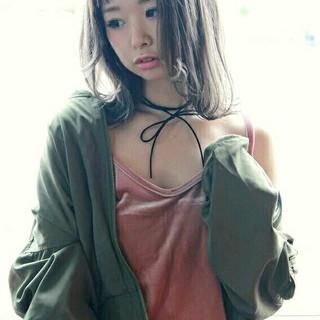 ハイライト ストリート アッシュ 外国人風 ヘアスタイルや髪型の写真・画像