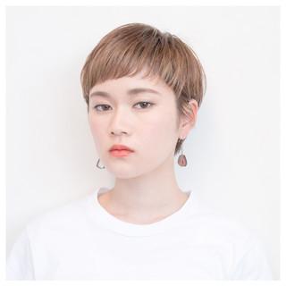 グラデーションカラー 前髪あり 外国人風 簡単ヘアアレンジ ヘアスタイルや髪型の写真・画像