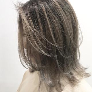 オフィス ナチュラル ミディアム 成人式 ヘアスタイルや髪型の写真・画像