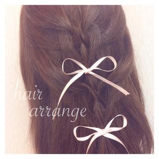 セミロング ショート 簡単ヘアアレンジ ヘアアレンジ ヘアスタイルや髪型の写真・画像 ヘアスタイルや髪型の写真・画像