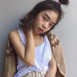 フェミニン ゆるふわ パーマ 簡単ヘアアレンジ ヘアスタイルや髪型の写真・画像 ヘアスタイルや髪型の写真・画像