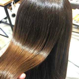 髪質改善トリートメント 髪質改善 ナチュラル サイエンスアクア ヘアスタイルや髪型の写真・画像