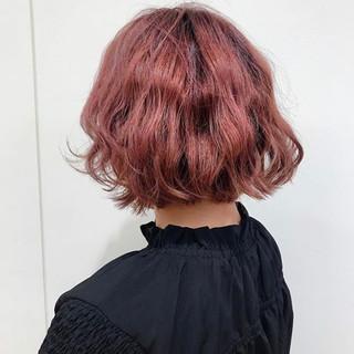 オシャレ イルミナカラー ボブ ミニボブ ヘアスタイルや髪型の写真・画像
