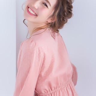 ヘアアレンジ フェミニン 大人女子 ロング ヘアスタイルや髪型の写真・画像