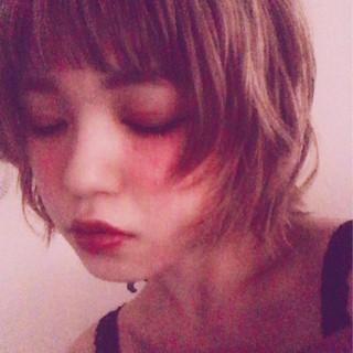 デート ボブ 冬 オン眉 ヘアスタイルや髪型の写真・画像 ヘアスタイルや髪型の写真・画像