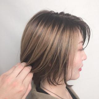 デート エレガント ショートヘア ミニボブ ヘアスタイルや髪型の写真・画像