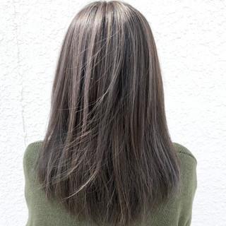 ブリーチ ハイライト ホワイトブリーチ 外国人風カラー ヘアスタイルや髪型の写真・画像