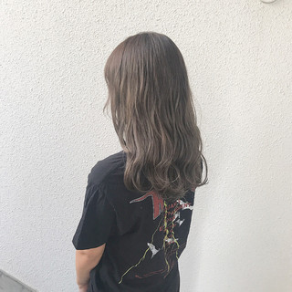 外国人風カラー ブリーチ ナチュラル ダブルカラー ヘアスタイルや髪型の写真・画像