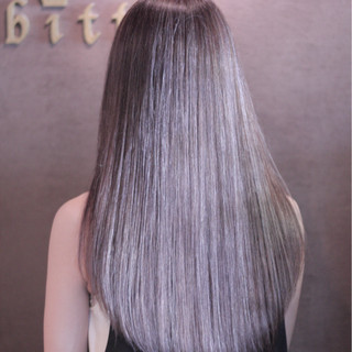 ストリート ハイライト 渋谷系 ロング ヘアスタイルや髪型の写真・画像