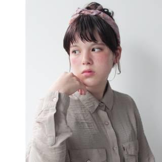 まとめ髪 ヘアアレンジ ボブ ショート ヘアスタイルや髪型の写真・画像