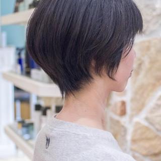 ショートヘア ショートボブ ミニボブ 大人かわいい ヘアスタイルや髪型の写真・画像