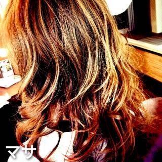 フェミニン 卵型 ストリート モテ髪 ヘアスタイルや髪型の写真・画像