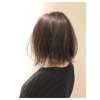 3Dカラー こなれ感 ナチュラル 外ハネ ヘアスタイルや髪型の写真・画像