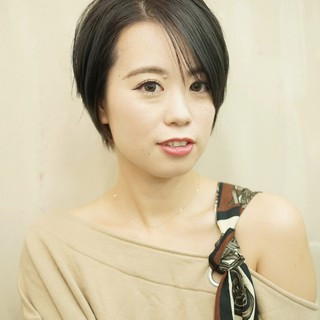 ショート ハンサムショート ナチュラル かわいい ヘアスタイルや髪型の写真・画像