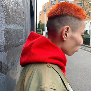 モード ショート ショートボブ ベリーショート ヘアスタイルや髪型の写真・画像