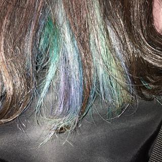 イルミナカラー グレージュ ロング 外国人風カラー ヘアスタイルや髪型の写真・画像