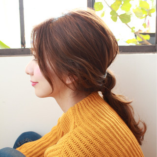 ロング ヘアアレンジ 大人かわいい ショート ヘアスタイルや髪型の写真・画像