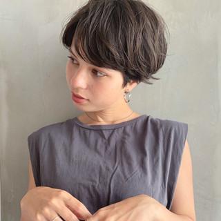 ボブ 上品 パーマ ナチュラル ヘアスタイルや髪型の写真・画像