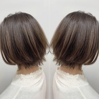 ナチュラル 大人女子 似合わせカット ボブ ヘアスタイルや髪型の写真・画像