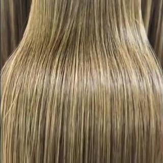 ツヤツヤ サラサラ オフィス ナチュラル ヘアスタイルや髪型の写真・画像