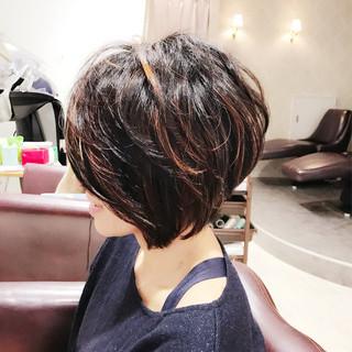 モード ナチュラル こなれ感 小顔 ヘアスタイルや髪型の写真・画像
