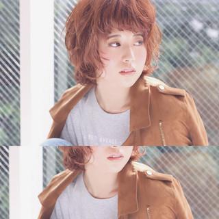 色気 外国人風 ストリート パーマ ヘアスタイルや髪型の写真・画像