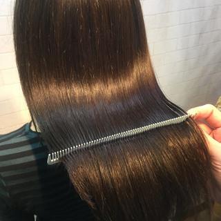 ナチュラル 髪質改善カラー 髪質改善トリートメント 美髪 ヘアスタイルや髪型の写真・画像