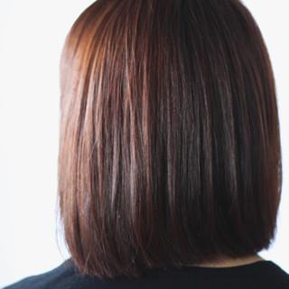 ボブ ナチュラル ラベンダー ブラウン ヘアスタイルや髪型の写真・画像 ヘアスタイルや髪型の写真・画像