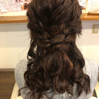 上品 エレガント 結婚式 ブライダル ヘアスタイルや髪型の写真・画像