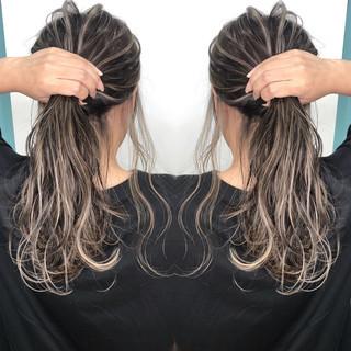 外国人風カラー ナチュラル 外国人風 ロング ヘアスタイルや髪型の写真・画像