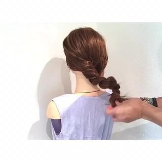 ヘアアレンジ 女子会 色気 涼しげ ヘアスタイルや髪型の写真・画像