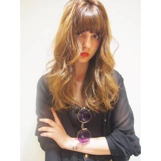 外国人風 ロング 春 パンク ヘアスタイルや髪型の写真・画像