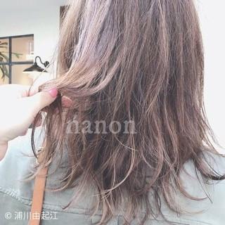 大人かわいい グラデーションカラー インナーカラー フェミニン ヘアスタイルや髪型の写真・画像