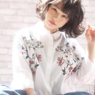 かわいい ニュアンス ゆるふわ フェミニン ヘアスタイルや髪型の写真・画像