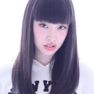 時短 ナチュラル ストレート 簡単ヘアアレンジ ヘアスタイルや髪型の写真・画像