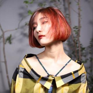 女子力 透明感 切りっぱなし モード ヘアスタイルや髪型の写真・画像