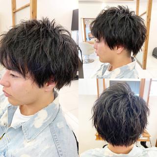 黒髪 ショート 春スタイル デート ヘアスタイルや髪型の写真・画像