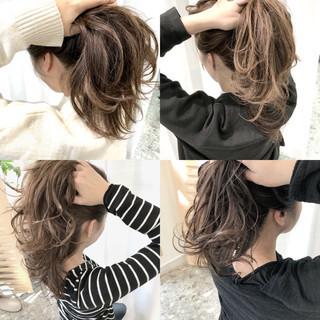 デート 上品 ヘアアレンジ エレガント ヘアスタイルや髪型の写真・画像