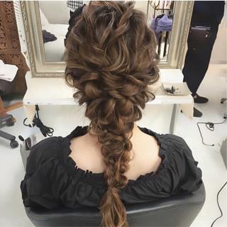 ナチュラル エレガント 結婚式 上品 ヘアスタイルや髪型の写真・画像