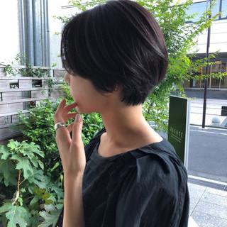 大人かわいい ショートヘア ショートボブ 大人ショート ヘアスタイルや髪型の写真・画像