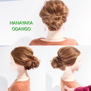 フェミニン ロング オフィス 簡単ヘアアレンジ ヘアスタイルや髪型の写真・画像 ヘアスタイルや髪型の写真・画像