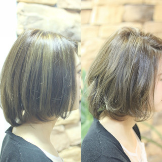 グレージュ 外国人風カラー 外国人風 ハイライト ヘアスタイルや髪型の写真・画像 ヘアスタイルや髪型の写真・画像